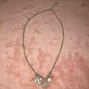 Aeropostale Dove Charm Necklace